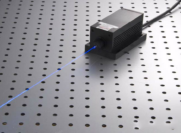 473nm 300mw blue dpss laser Diode Pumped Solid State laser with power supply Free shipping